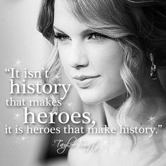 Pinterest account posts pictures of Taylor Swift overlayed with Taylor quotes, teenagers love them. Quotes were actually said by Hitler. Wow, maybe you should double check your source before pinning.