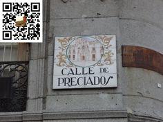 Calle de Preciados de la Ciudad de Madrid en España