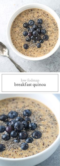 Start your day off right with this delicious and nutritious Low FODMAP Breakfast Quinoa. Not only is this recipe gluten and dairy free, but it's also packed with nutrients and ready in less than 5 minutes!