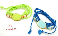 2B...Colorful!!!  Enamel wrap bracelets to add that joy in our daily routine!!!