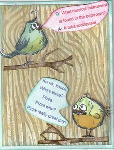 Best Riddle Teller Bird by donnajeanne - Cards and Paper Crafts at Splitcoaststampers
