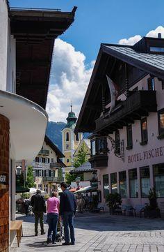 Saint Johann de Tyrol, un petit village typique du Tyrol à découvrir.