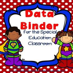 Data, data, data! This drives everyone's instruction in both gen ed and SpEd, but I feel it is an invaluable tool in a self-contained Special Education class!!! Data drives instruction in all areas. It shows what is working and what isn't, when you should tweak your instruction.