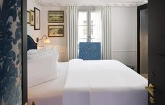 La Chambre du Marais, luxury hotel in Paris marais disctrict, very central. Room service by a Michelin chef!