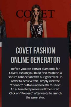 Covet Fashion Hack can grant you diamonds in the game free of charge.   Quite not like the known Hack generators that requests download. Covet   Fashion (Hacks|Hack Cheats|Cheats} are quite safe and can be used on all   iOS/Android platforms. Covet Fashion Cheats, Covet Fashion Hack, Covet Fashion Games, Fashion Hacks, Fashion Outfits, Create Your Own Avatar, Clothing Labels, Brand You, Cheating