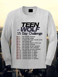 Teen Wolf Lacrosse sweatshirt. by tasotnithomson on Etsy
