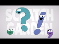 ▶ Punctuation Explained (by Punctuation!) | Scratch Garden - YouTube