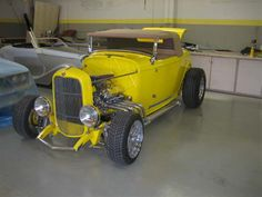 1932 Ford Roadster by Finish Line Automotive Interiors in Santa Clara CA . Click to view more photos and mod info.