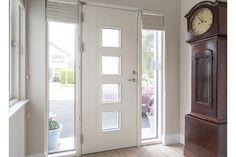 Aluclad Window & Door Refurbishment Project - Signature Wood Front Doors, Wooden Doors, Composite Front Door, White Doors, Entrance Doors, Windows And Doors, Pure Products, Architecture, Interior