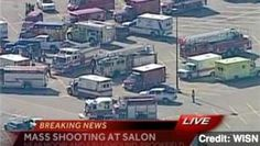 Suspect at Large After Wisconsin Mall Shooting