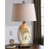 """Found it at Wayfair - Pajaro 32.5"""" H Table Lamp with Empire Shade"""