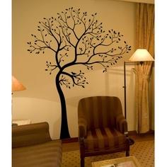 pretty tree wall art