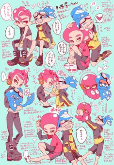 ♡♔❝Welcome to book 2 of your daily dose of boy x boy Agent becaus… # De Todo # amreading # books # wattpad Splatoon 2 Art, Splatoon Comics, Callie And Marie, Cute Games, Witch House, Geek Culture, Character Concept, Amazing Art, Doodles