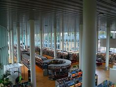 Halmstad Library -Halmstad, Växjö, Sweden