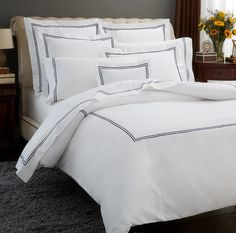 KAMASH offers high quality luxury hotel bed linens that feel comfortable and look extremely elegant too. For nore info visit their website.