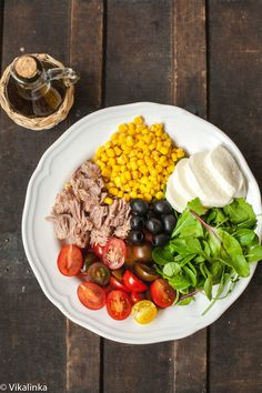 Italian Tuna and Corn Salad