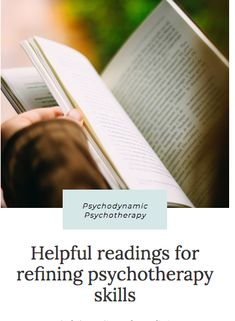 drlynnfriedman.com | Psychologist | Washington DC Read about psychodynamic psychotherapy. #psychologist #washingtondc #psychoanalyst #psychodynamicpsychotherapy Psychodynamic Psychotherapy, Good Books, Books To Read, Process Of Change, Purpose Driven Life, Miracle Morning, Gift Of Time, Reading Skills, Book Lists