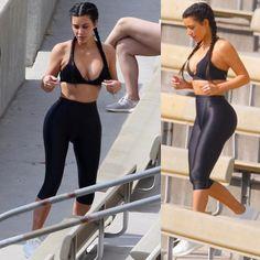 "2,674 Likes, 10 Comments - Kim Kardashian Army (@kimkardashianarmy) on Instagram: ""Kim working out in LA yesterday morning (June 25)"""