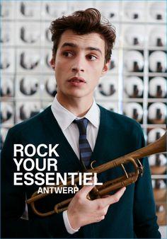 Belgian fashion brand Essentiel Antwerp taps Adrien Sahores as the star of its…