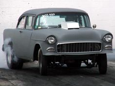 The 1955 Chevy Hot Rod from Two Lane Black Top.  Reminds me of my street racing days!