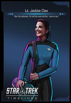 Lt. Jadzia Dax (Terry Farrell) from Star Trek: Deep Space Nine (DS9)