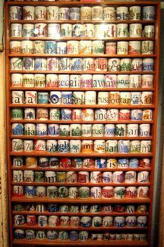 Cute Coffee mug display …   Pinteres…