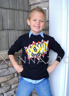 Super Hero Shirt by Xannazoo on Etsy