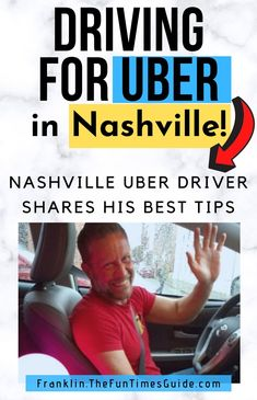 Is driving for Uber worth it in Nashville? YES! If you need extra money and wondering how to drive for Uber, start here. My husband drives for Uber in Nashvilleand makes good money! See how to start driving for Uber, how much money you can make & my hubby's tips for new Uber drivers in Nashville. #nashvilletn  #nashville #uber #rideshare