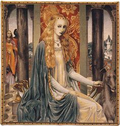 Inspiration for Sigrid's tapestries.  (Lady Guinevere)