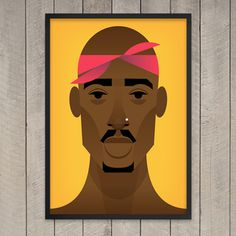 Tupac Shakur by Stanley Chow
