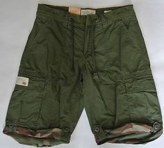 $195 Mens Ralph Lauren Double RL RRL Military Cargo Shorts Sz 34 ...