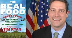 """Here's a member of Congress who wants to change our food system for the better: Tim Ryan (D-Ohio). He wants to shift the current subsidies that go to corn and soybeans to fruits and vegetables. """"I think we would move in the direction of having healthy foods be affordable and accessible to all Americans,"""" he says."""