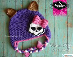 Monster High Monster High Crochet Hat Clawdeen by SWAKbyLilyNorris