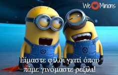 Funny Minion Pictures Below are some very funny minions memes, and funny quotes, i hope you will enjoy them at your best . and why not whatever minions do they always look funny and stupid . So make sure to share the best minions with your friends .