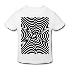 Tee shirt Optical illusion (Impossible) Black & White OP-Art #cloth #cute #kids# #funny #hipster #nerd #geek #awesome #gift #shop  mermaid earrings goddess of the sea mermaid jewelry siren abalone shell mermaid resort wear celestial beach wear high fashion gypsy boho
