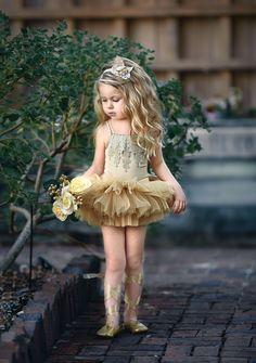 Gold Mistletoe Yellow Flower Girl Dresses, Cute Little Girl Dresses, Cute Little Girls, Baby Girl Dresses, Baby Dress, Dance Outfits, Kids Outfits, Little Girl Models, Baby Girl Dress Patterns