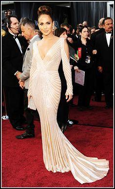Jennifer Lopez 2012 Oscars #celebrities #celebrityfashion #redcarpet
