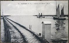 1641 CPA 64 BAYONNE ANGLET ENTREE DE LA BARRE VOILIER ET SON REMORQUEUR 1910 Barre, Snow, Outdoor, Tug Boats, Sailboats, Outdoors, Outdoor Games, The Great Outdoors, Eyes