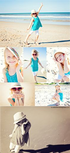 Little girl beach photoshoot by Scarlett & Stephen. http://scarlettlovesstephen.com