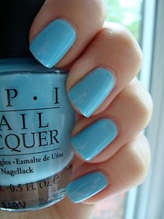 O.P.I nail colors are always so perfect