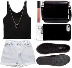 Без названия #168 by evgenia-trofimova featuring black sneakers