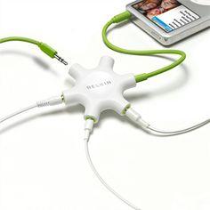 RockStar de Belkin - permite conectar 5 auriculares al mismo iPad