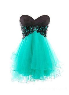 Lovely Strapless Sweetheart Lace-Up Short/Mini A-Line Homecoming Dress 10886025 - Sexy - ihomecoming.Com