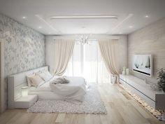 Designstudio Design Studio Ecke Odessa Ukraine Interieur Wohnung Haus K Dream Rooms, Dream Bedroom, Home Decor Bedroom, Modern Bedroom, Living Room Decor, Bedroom Ideas, Master Bedroom, Bedroom Romantic, Bedroom Bed