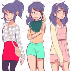 miraculous ladybug marinette crazy - Google Search