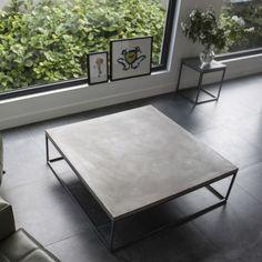 Lyon Beton Large Perspective Concrete Coffee Table