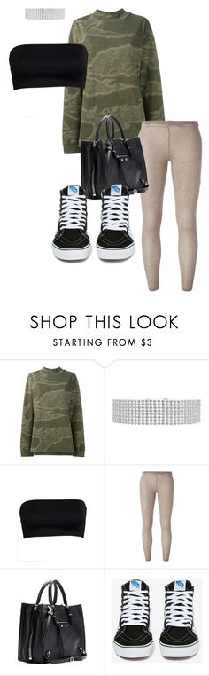 """""""Memories sneak down my cheek"""" by sadgirllmaya ❤ liked on Polyvore featuring Yeezy by Kanye West, IRO, Balenciaga and Vans"""