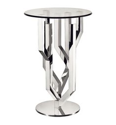 Produced in a limited edition of this silver-plated table from the famed French manufacturer Christofle is a true rarity Steel Furniture, Deco Furniture, Unique Furniture, Table Furniture, Luxury Furniture, Contemporary Furniture, Coffe Table, Coffee Table Design, Famous Furniture Designers