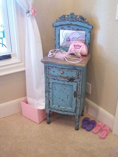 Cleaning help for kids - love this piece of furniture as well!