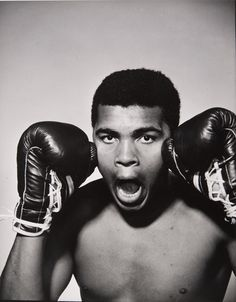 Muhammad Ali by Philippe Halsman, 1963